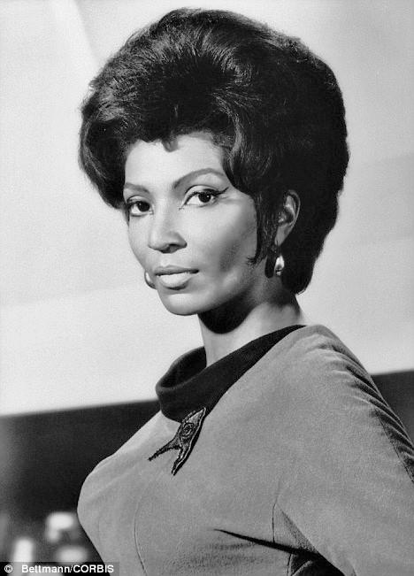 Star Trek's Nichelle Nichols aka Uhura