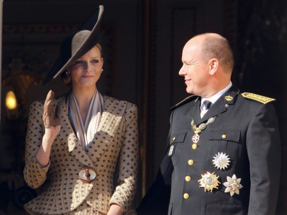 Prince Albert II and his fiancee South A