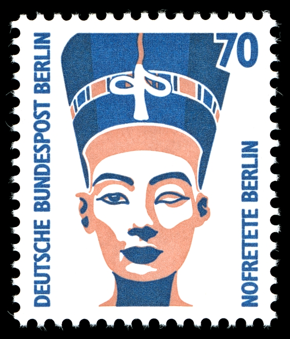 queen nefertiti stamp