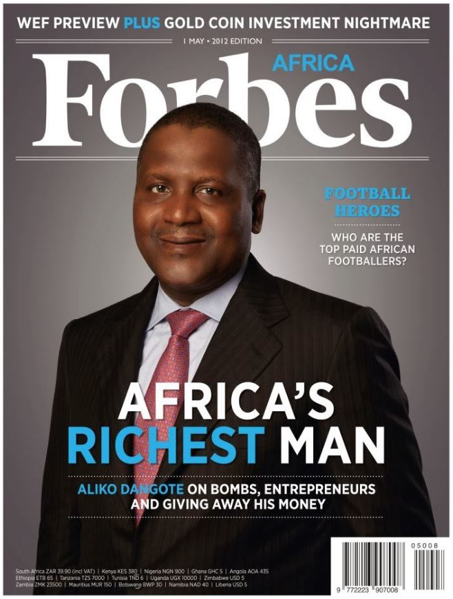 Unknown African Billionaire?