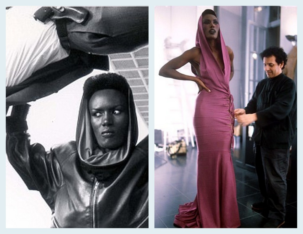 You arnold schwarzenegger grace jones