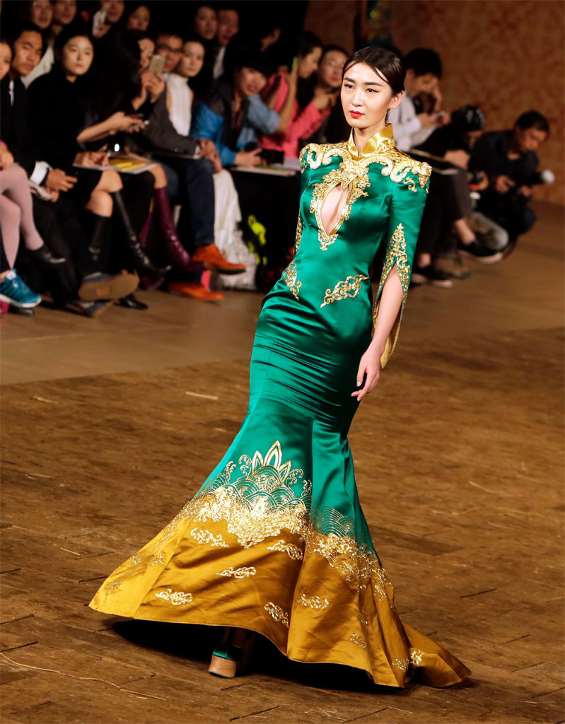 Ne Tiger Haute Couture Collection Fashion Show 2015 in Beijing
