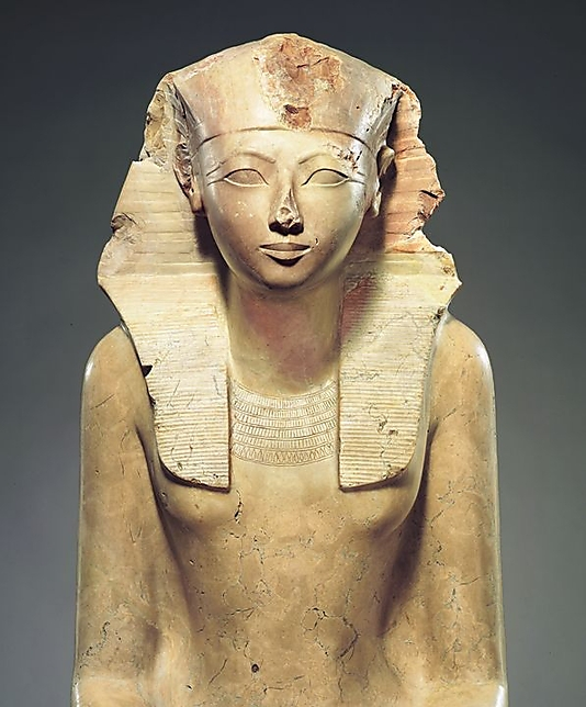 Hatshepsut was a female pharaoh during the New Kingdom in Egypt