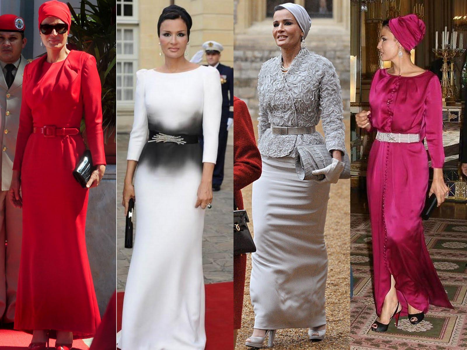 Queen Of Qatar Sola Rey