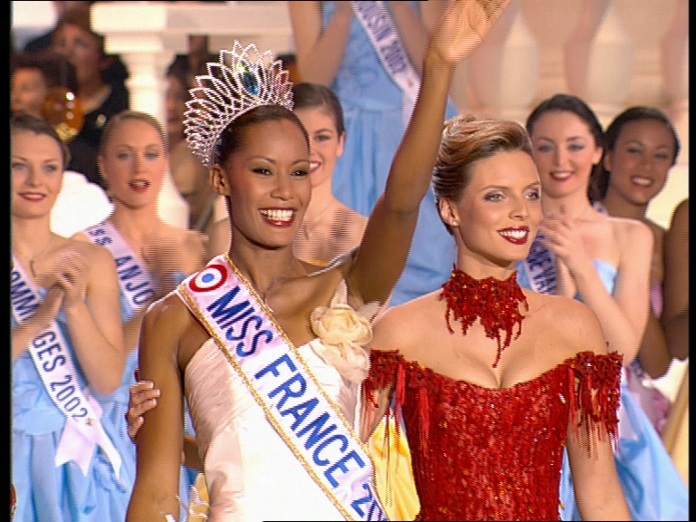 Miss France: Corinne Coman from Guadeloupe