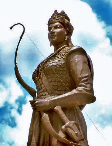Hindu Warrior Queen Rani Durgavati of Gondwana amazon