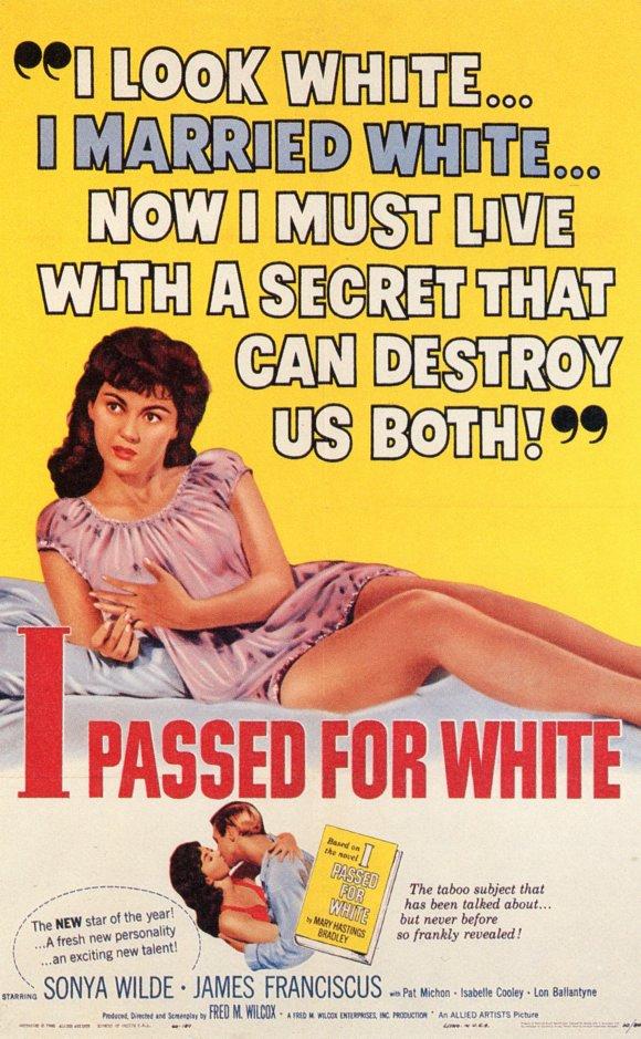 I passed for white poster
