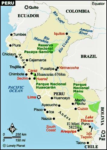 Ica and Nazca Peru