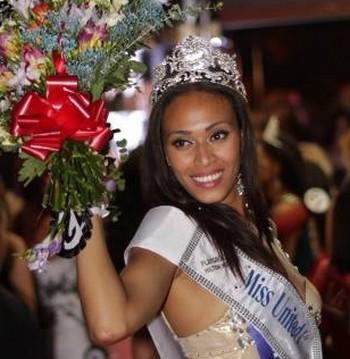 Miss England: Rachel Christie