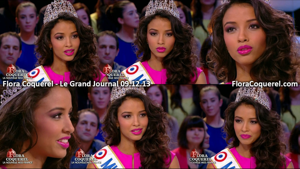 Miss France: Flora Coquerel