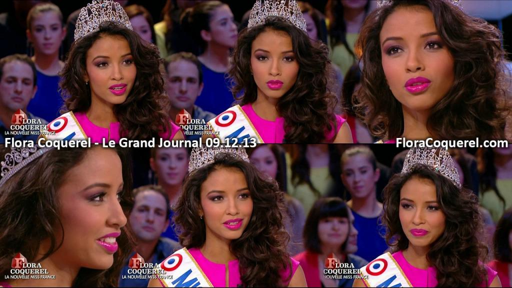 Miss France: Flora Coquerel