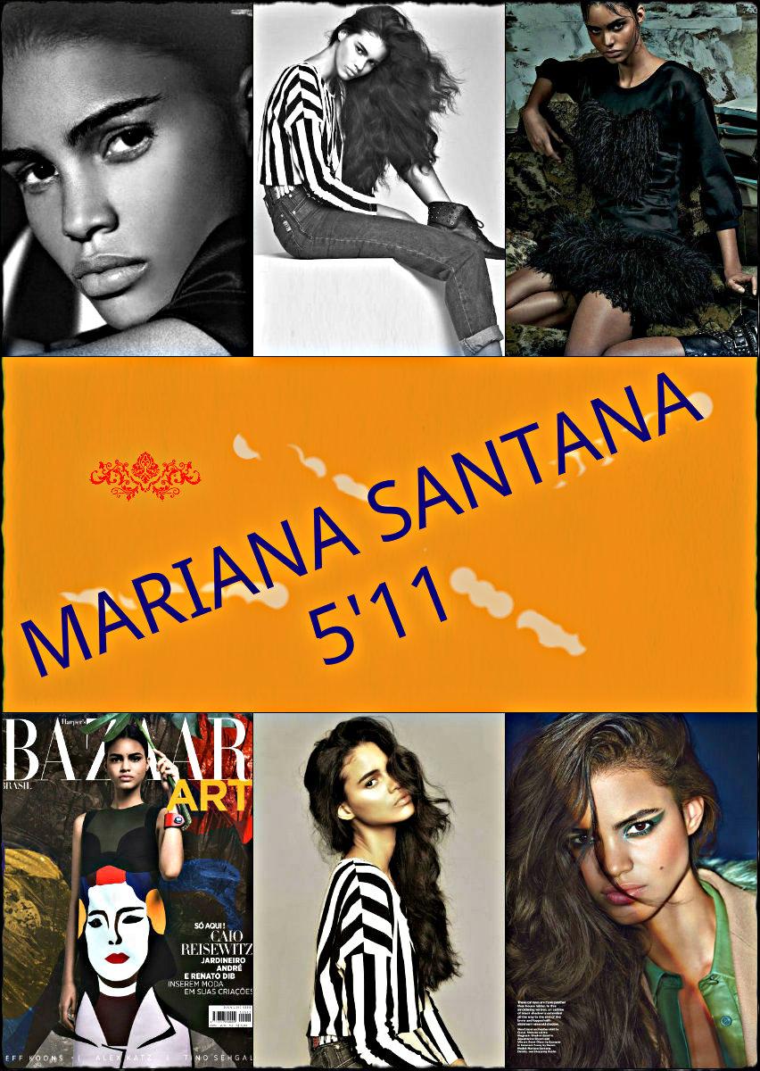 Brazilian Model: Mariana Santana