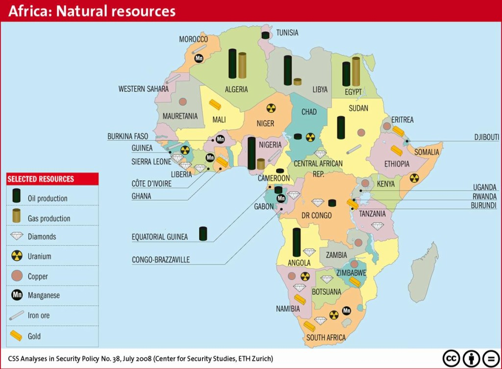 AFRICA'S NATURAL RESOURCES 00