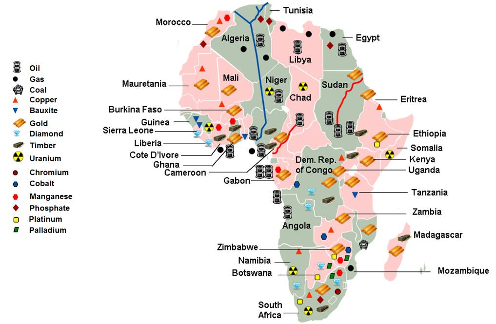 AFRICA'S NATURAL RESOURCES