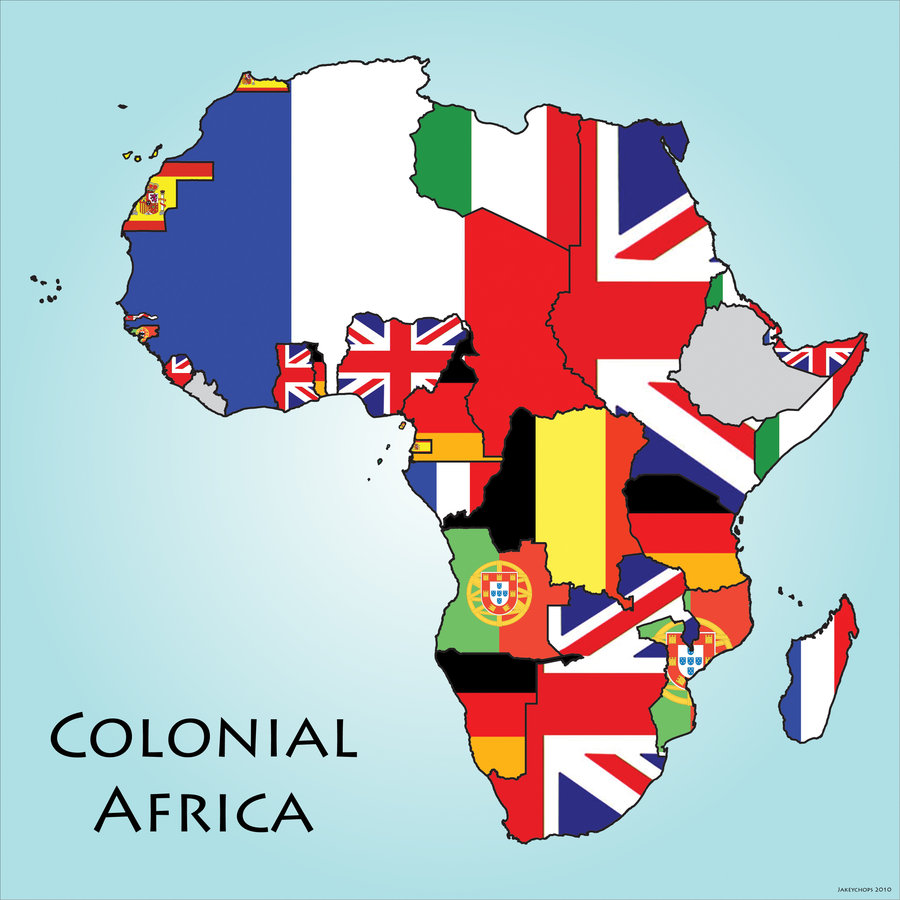 Colonial Africa by Cartocacoethes