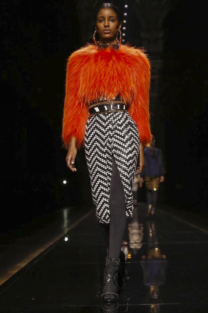 Balmain Ready To Wear Collection Fall Winter 2014 Paris
