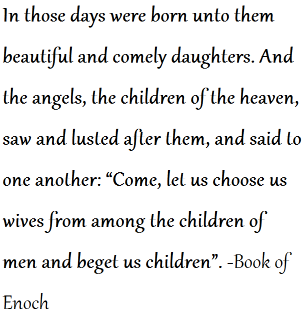 Book of Enoch Quote
