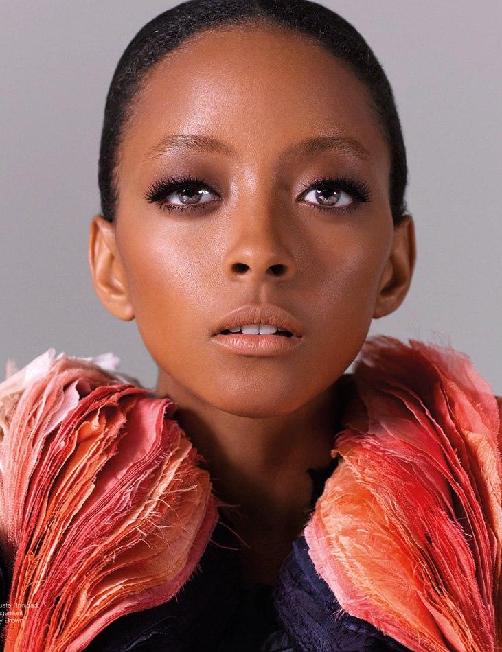 Model: Michelene Auguste