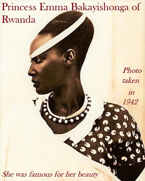 Princess Emma Bakayishonga of Rwanda 1942