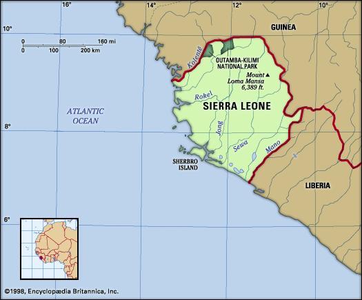 Sherbro Island, Sierra Leone