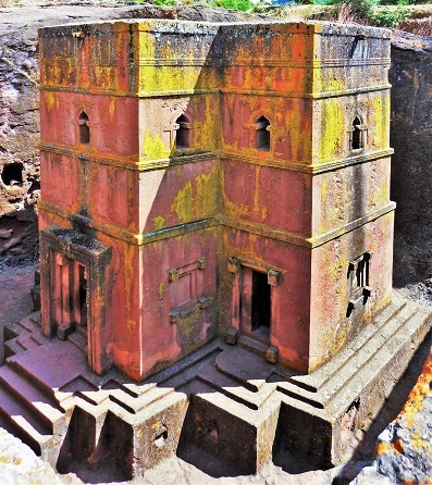 ethiopia Lalibela church