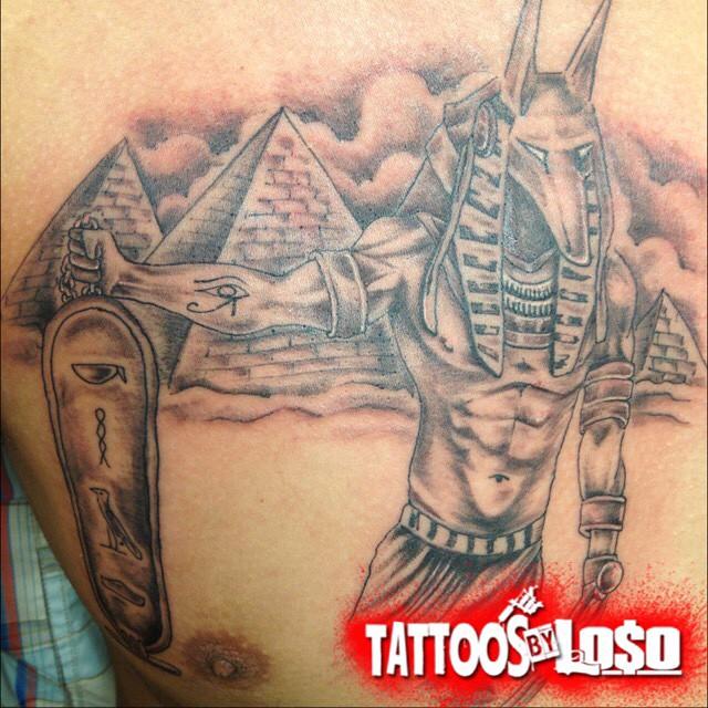 Egyptian Inspired Tattoos 01