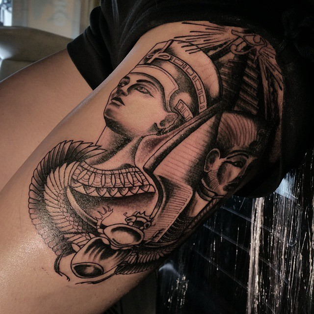 Egyptian Inspired Tattoos 03