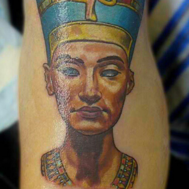 Egyptian Inspired Tattoos 11