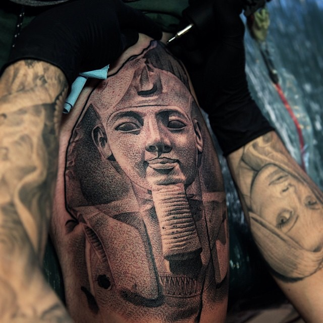 Egyptian Inspired Tattoos 12