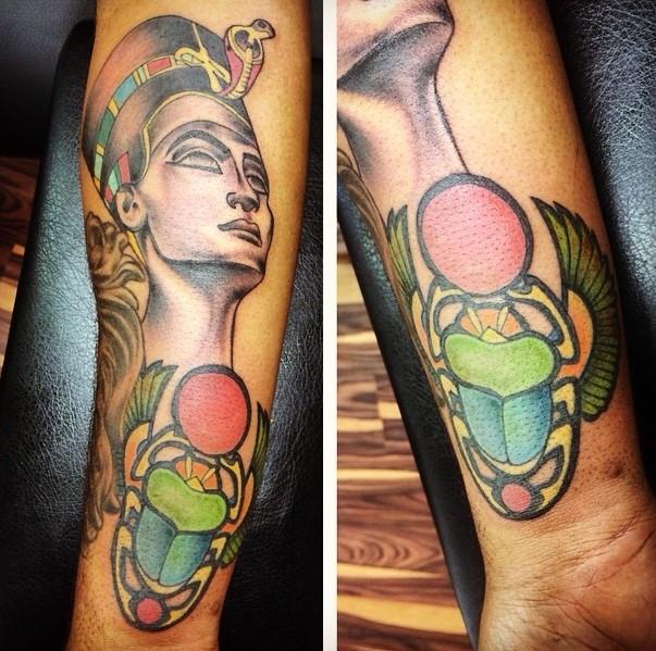 Egyptian Inspired Tattoos 19