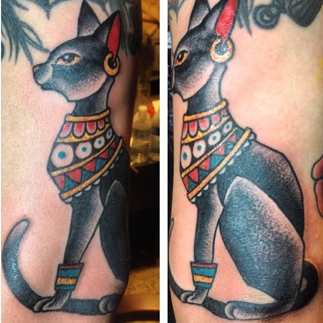 Egyptian Inspired Tattoos 27