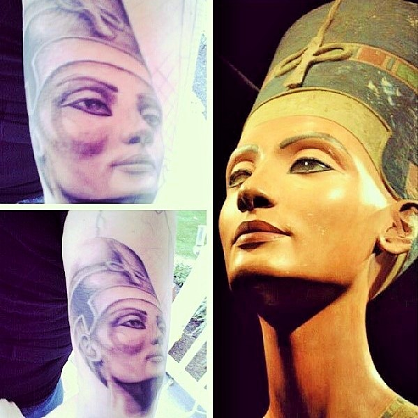 Random Egyptian Inspired Tattoos World Wide