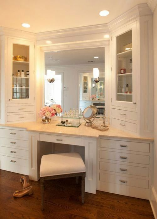 A few of my favorite make up vanities sola rey Vanity for master bedroom