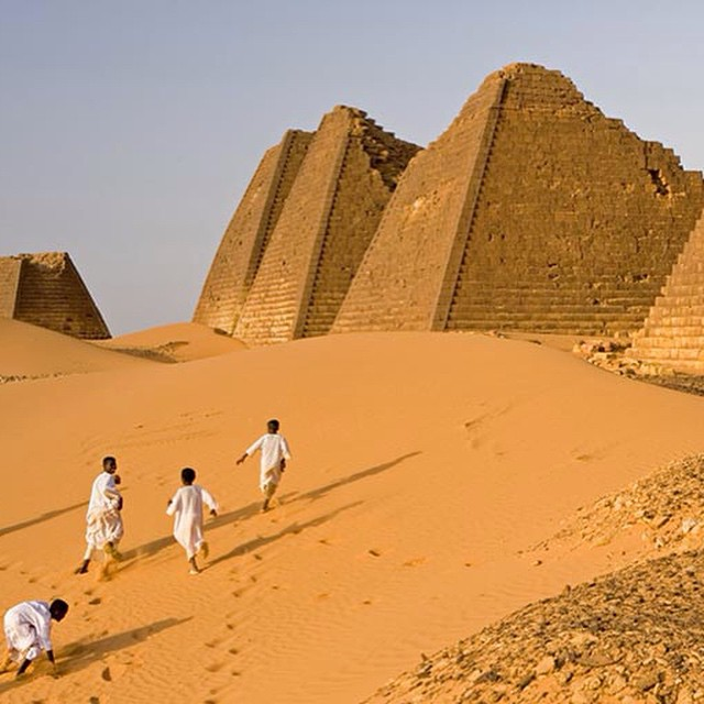 35 New Ancient Pyramids & Graves Discovered (2009-2012) in Sudan, Africa