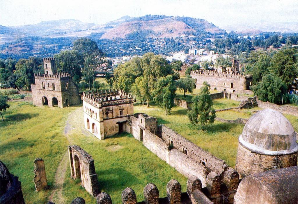 7 Emperor's Castles In Gondar, Ethiopia, Africa