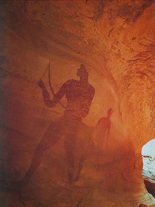 Estimated 15,000 Pre-historic rock art paintings from Tassili, Sahara Desert of North Africa
