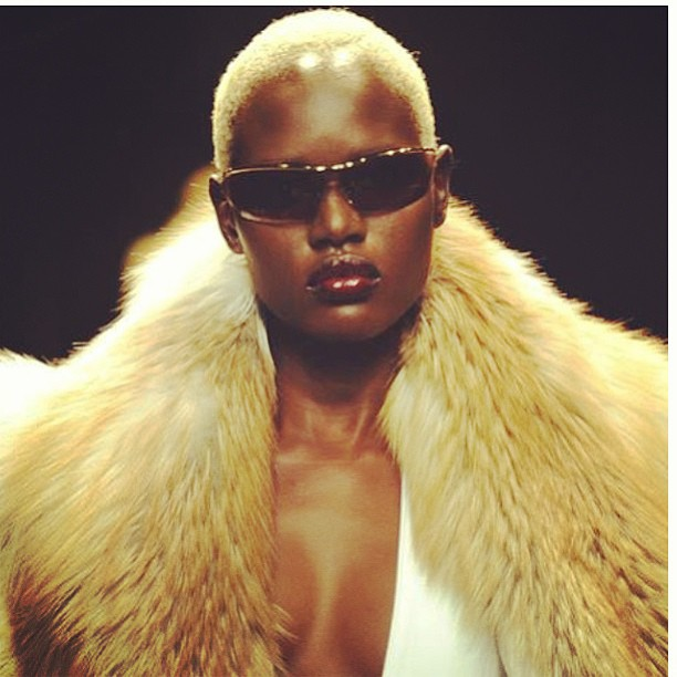 "Model: Angelique ""Ajak"" Deng"