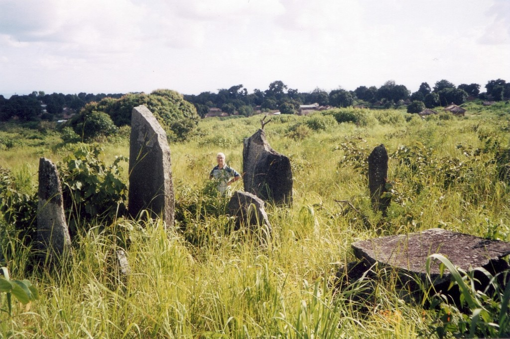 Megalithic Stones in Bouar, Central African Republic