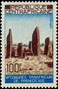 Bouar stamps