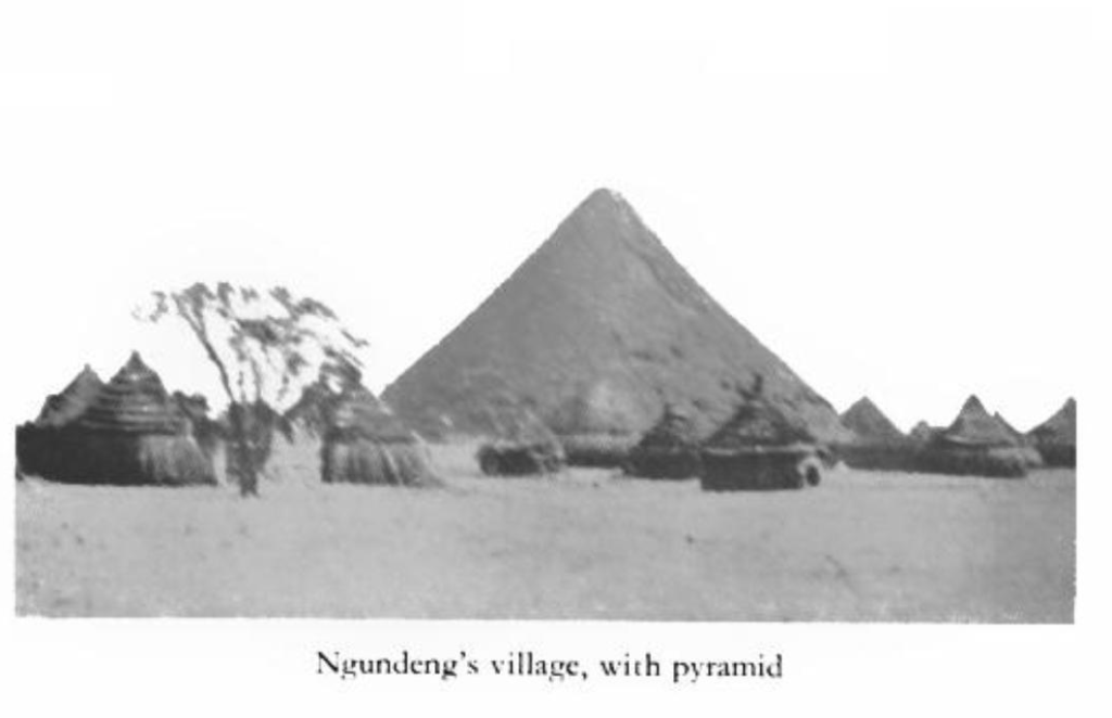 Nuer Pyramid in South Sudan