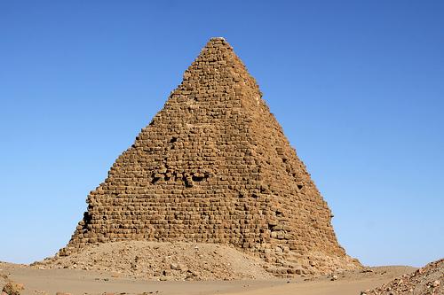 Nuri pyramid Complex Northern Sudan 01
