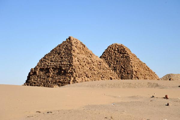 Nuri pyramid Complex Northern Sudan 03
