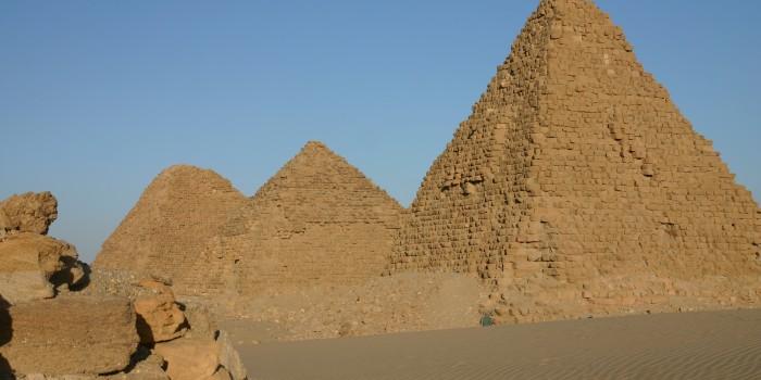 Nuri pyramid Complex Northern Sudan 04