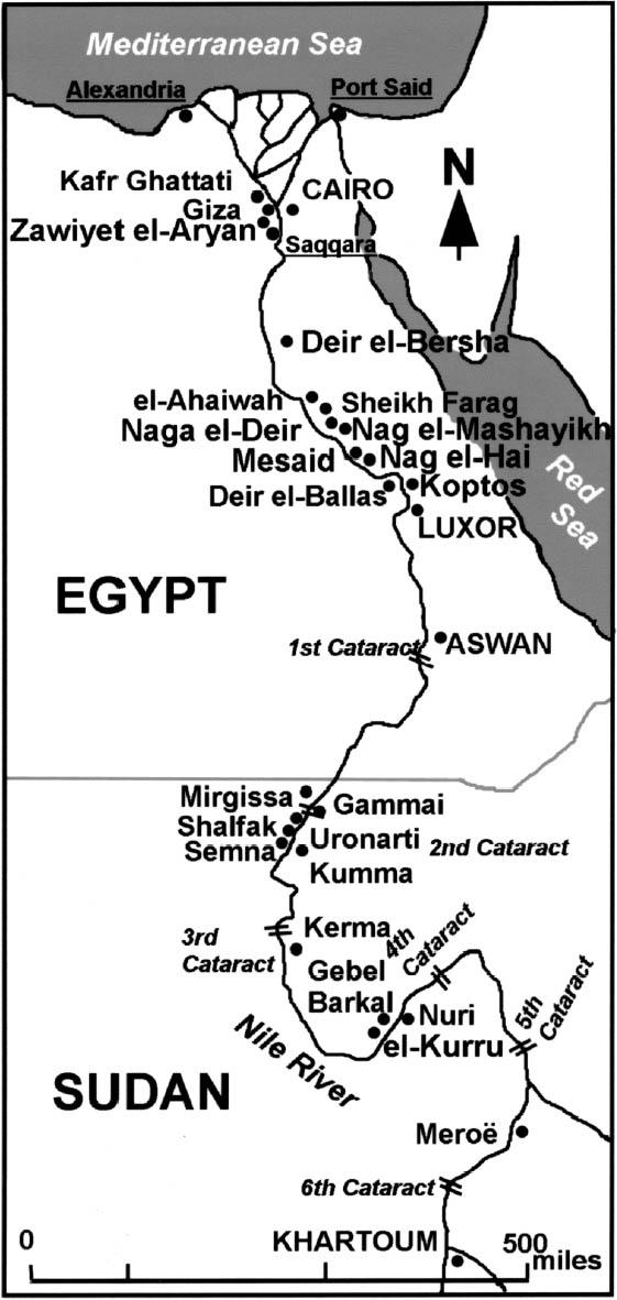 Nuri pyramid Complex Northern Sudan 08