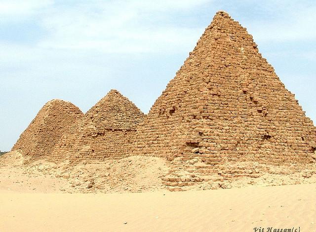 Nuri pyramid Complex Northern Sudan