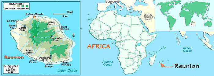 Reunion Island africa