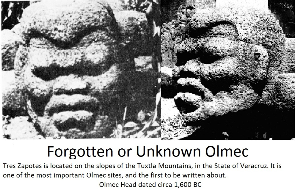 Estimated 1,600 BC Forgotten or Unknown Controversial Olmecs
