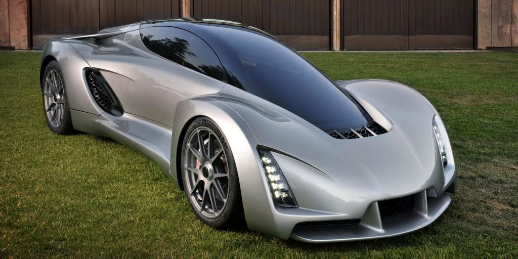 The First 3D-Printed Supercar