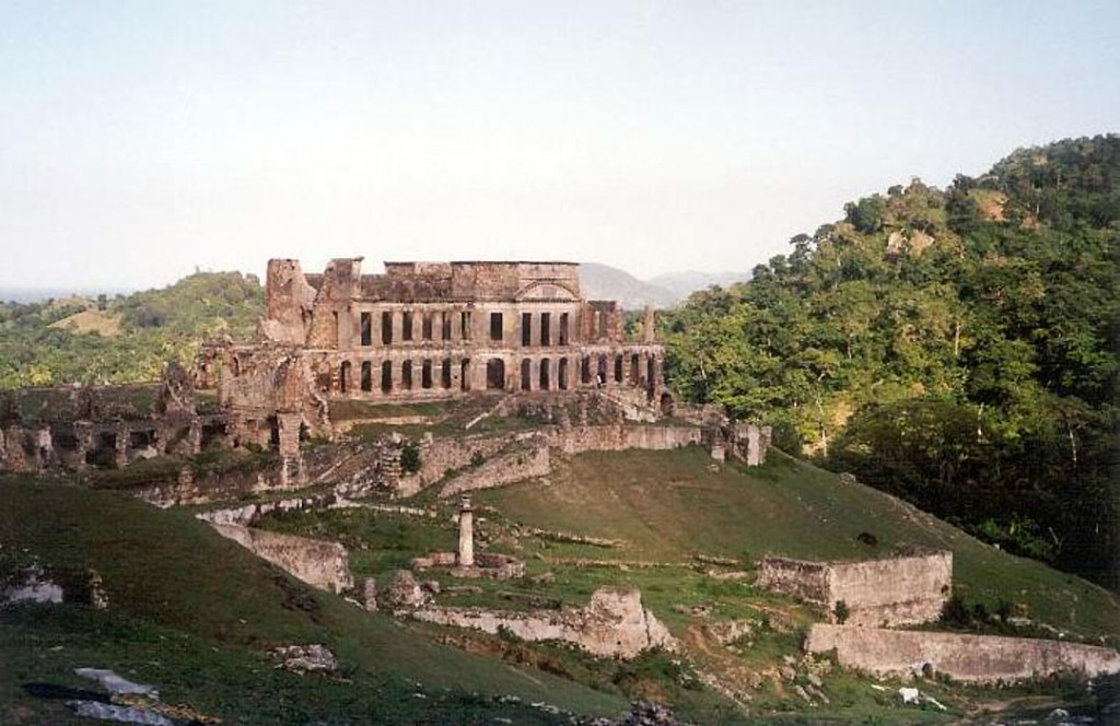 Built in 1810-1813. Sans Souci Palace, Milot, Haiti