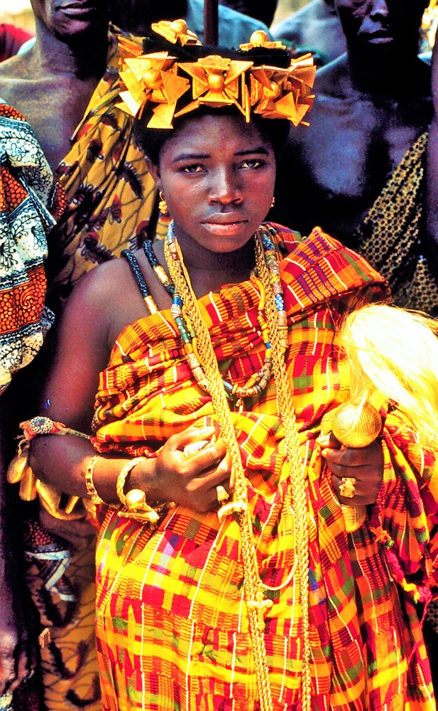 Queen Mother, Abeadze Dominase, Ghana, 1975.